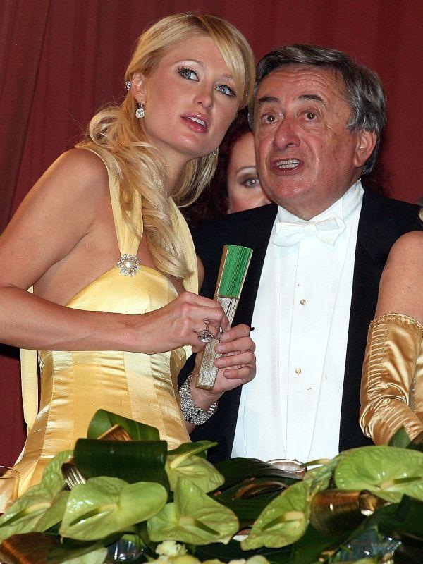 Richard Lugner und Paris Hilton