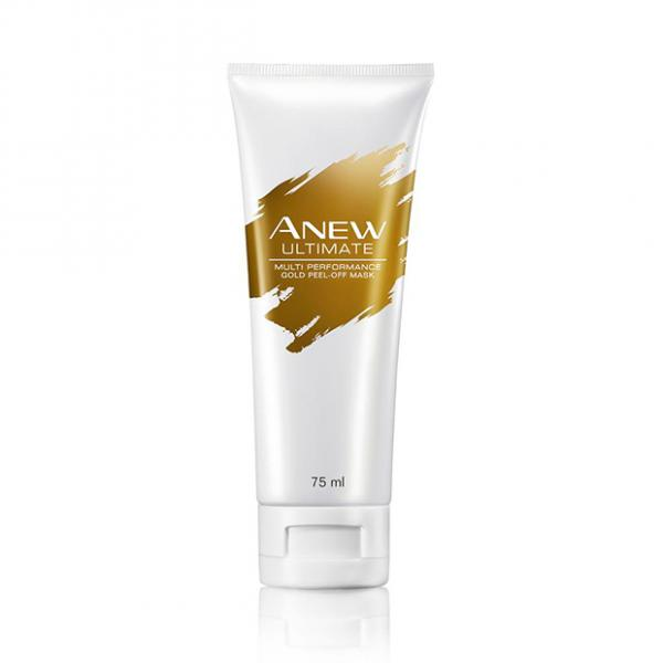 Anew Ultimate Multi- Performance Gold Peel -off-Maske