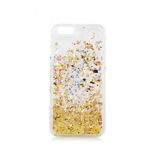 Champers Liquid Glitter iPhone 6 Case by Skinnydip