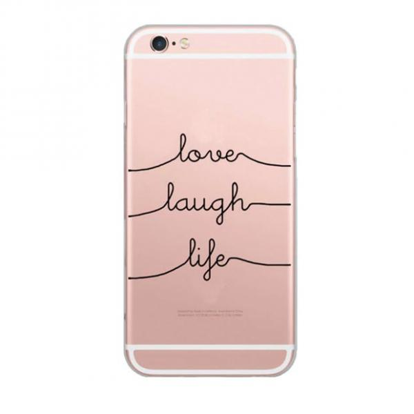LOVE LAUGH LIFE SOFT CASE