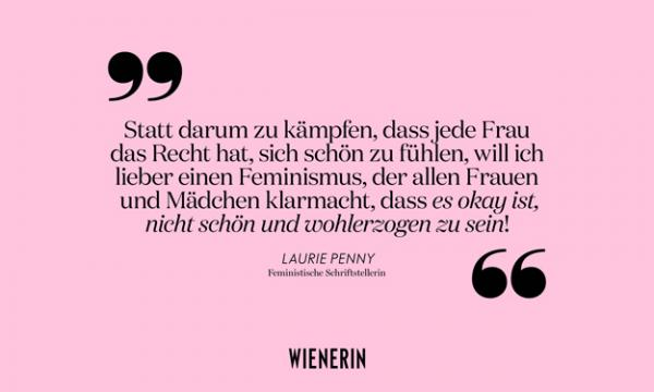 Zitat Laurie Penny