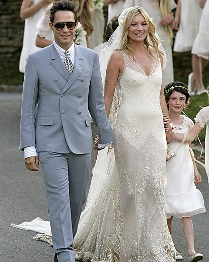 Kate Moss and Jamie Hince - Wedding