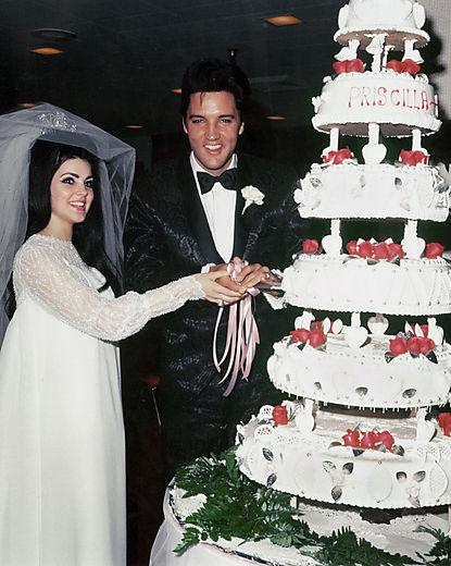 Photo of Elvis Presley & Priscilla Presley