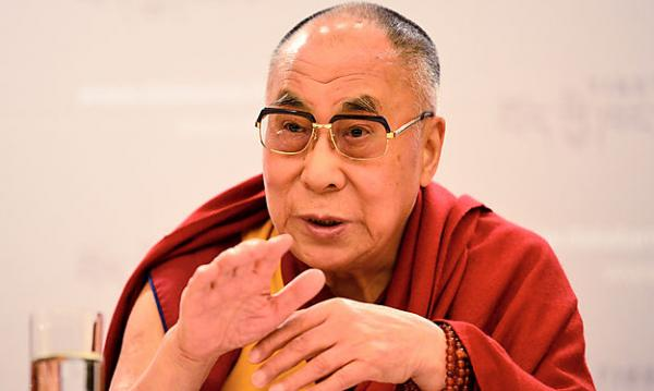 The Dalai Lama, Amidst Protests, Visits Frankfurt