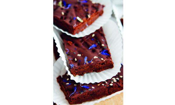 Sweet Bean Brownies